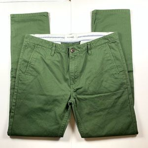 Diamond Supply Co Green Pants Mens Size 34